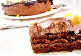 Dolci golosità: Torta al cioccolato con ganache