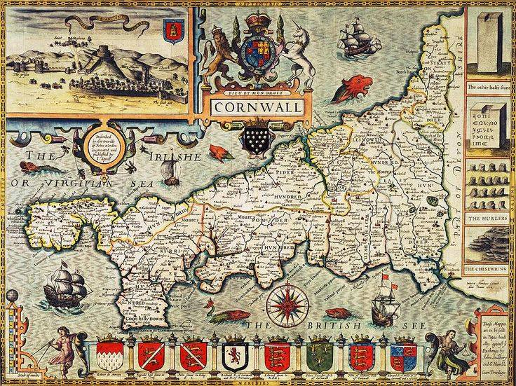 Cornwall Map 3