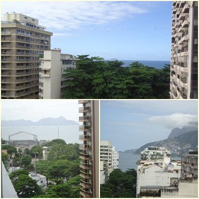 Rio de Janeiro, Ipanema, praia, Copacabana, vista hotel