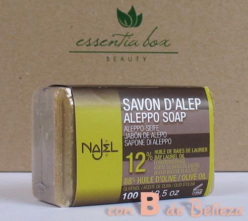 Jabón de alepo de Najel