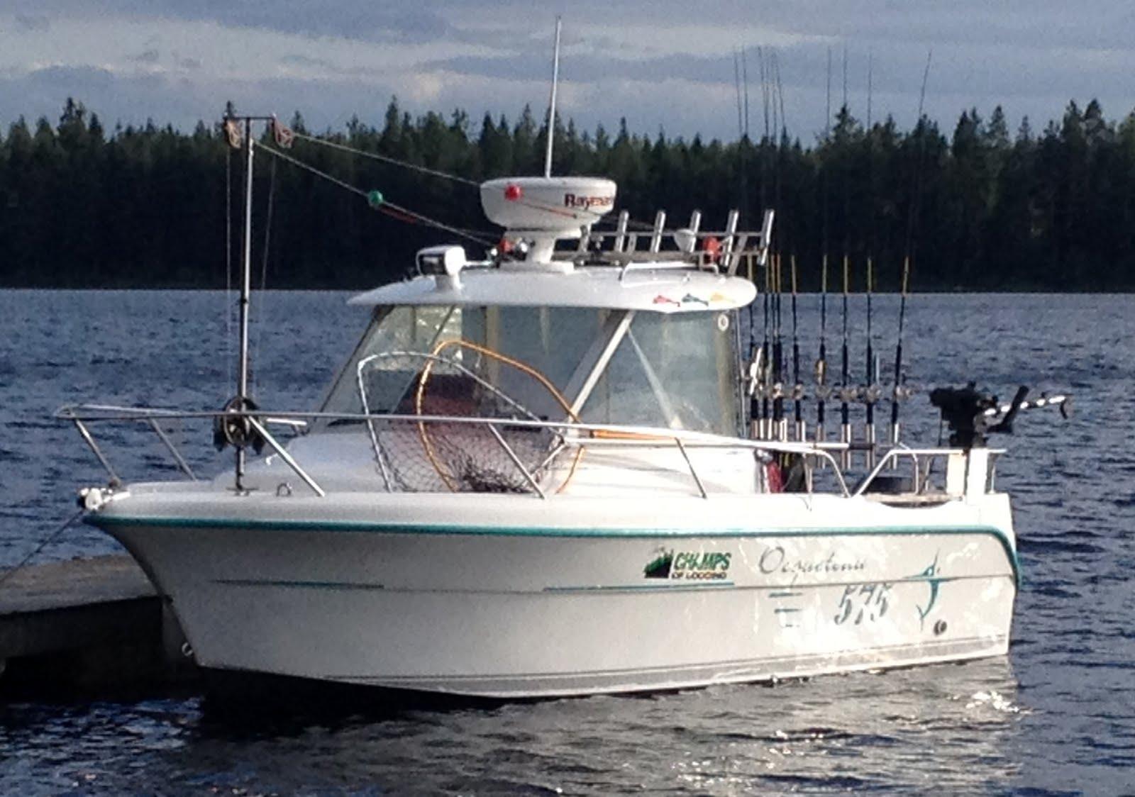 Vår trollingbåt