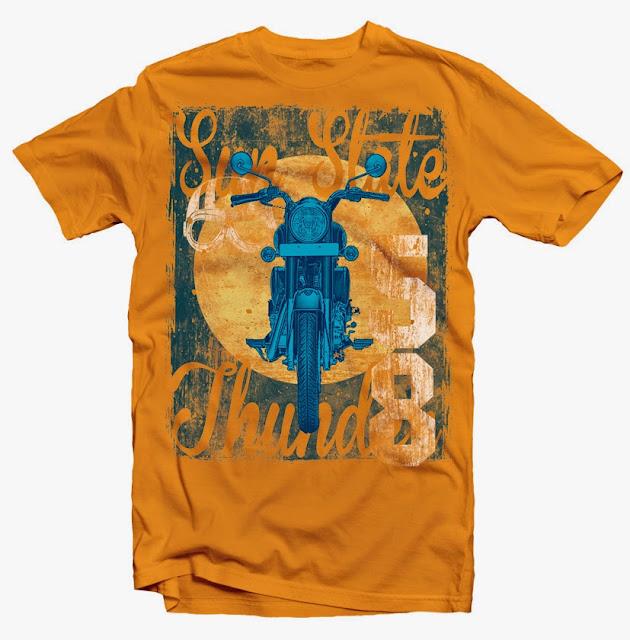 moto tshirt design