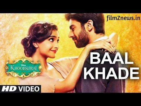 Baal Khade Video from Khoobsurat (2014) - Sonam Kapoor  Sunidhi Chauhan