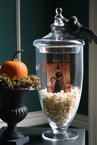 See my Fabulous Halloween Filler Ideas for apothecary jars!