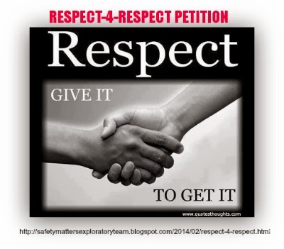 RESPECT-4-RESPECT - Stand your Ground Law