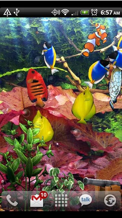 Aquarium Free Live Wallpaper_Android live wallpaper