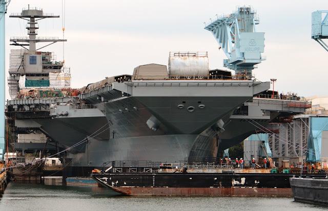 La portaerei da 13 miliardi di dollari