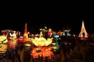 Wisata Malang batu night spectacular BNS