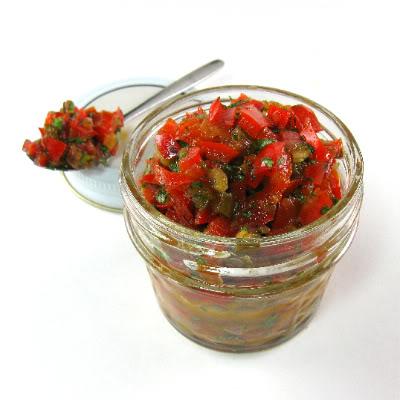 Testing 1000 Vegan Recipes: Red Pepper, Mango, & Avocado Relish