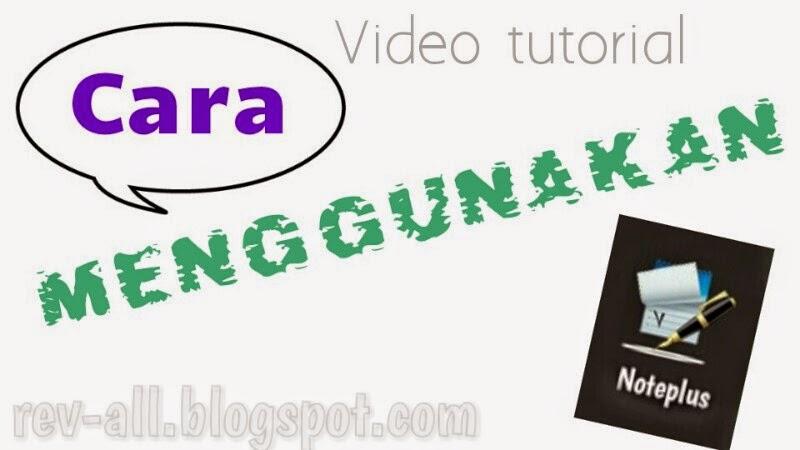 video tutorial cara menggunakan noteplus (aplikasi android penyadap sms)
