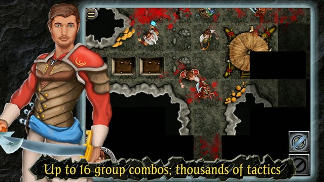 Heroes of Steel RPG Elite Apk screensot