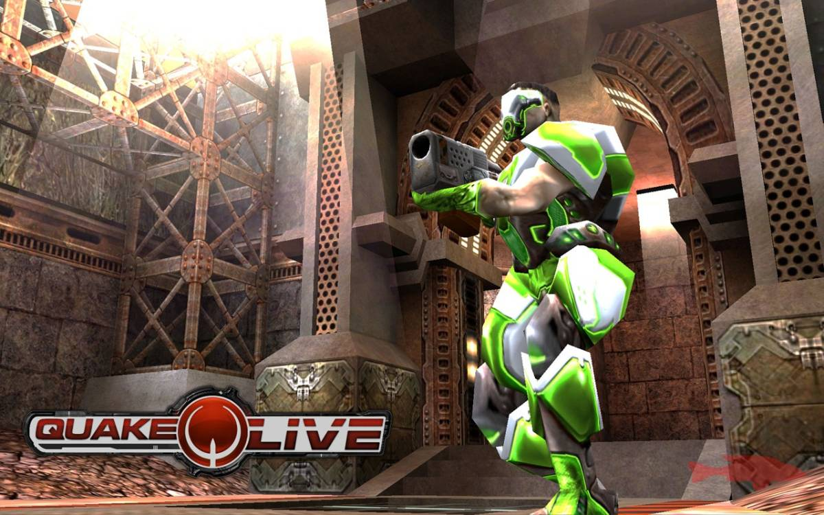 wallpaper Quake Live