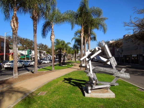 West Hollywood Abandoned Relics outdoor sculptures