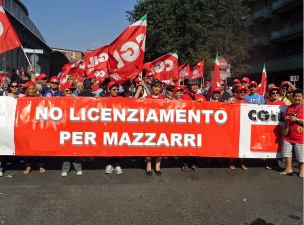 mazzarri, Inter, cgil, sciopero