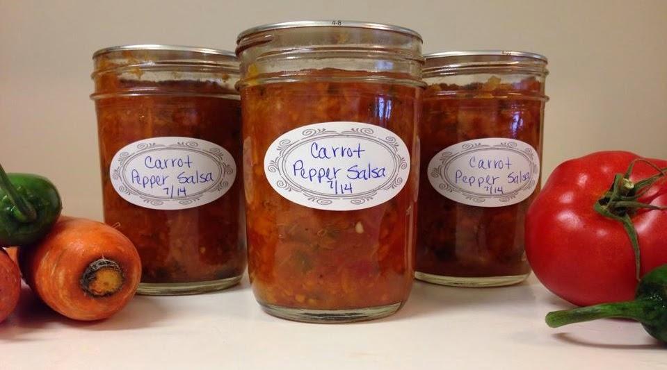 carrot pepper salsa