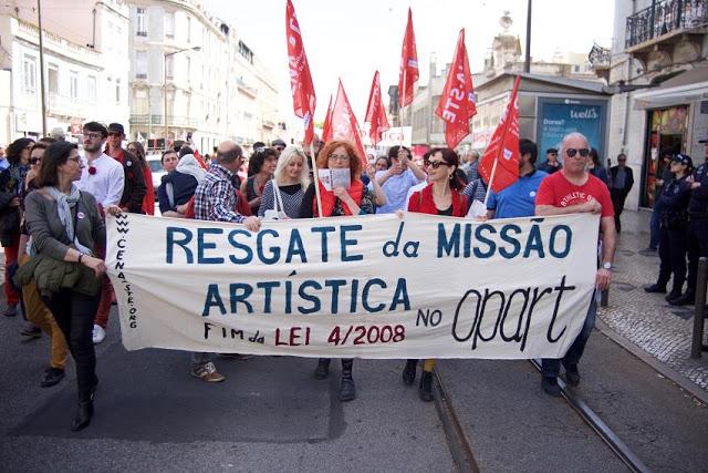 CENA-STE | COMUNICADO | «Respeitar a Missão Artística do OPART, E.P.E»