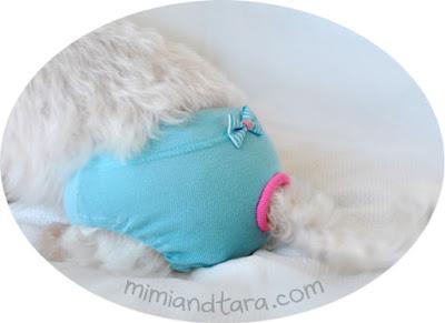 dog sanitary panty pattern