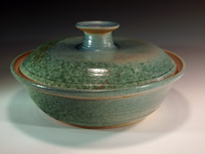 Covered Casserole Dish by Lori Buff