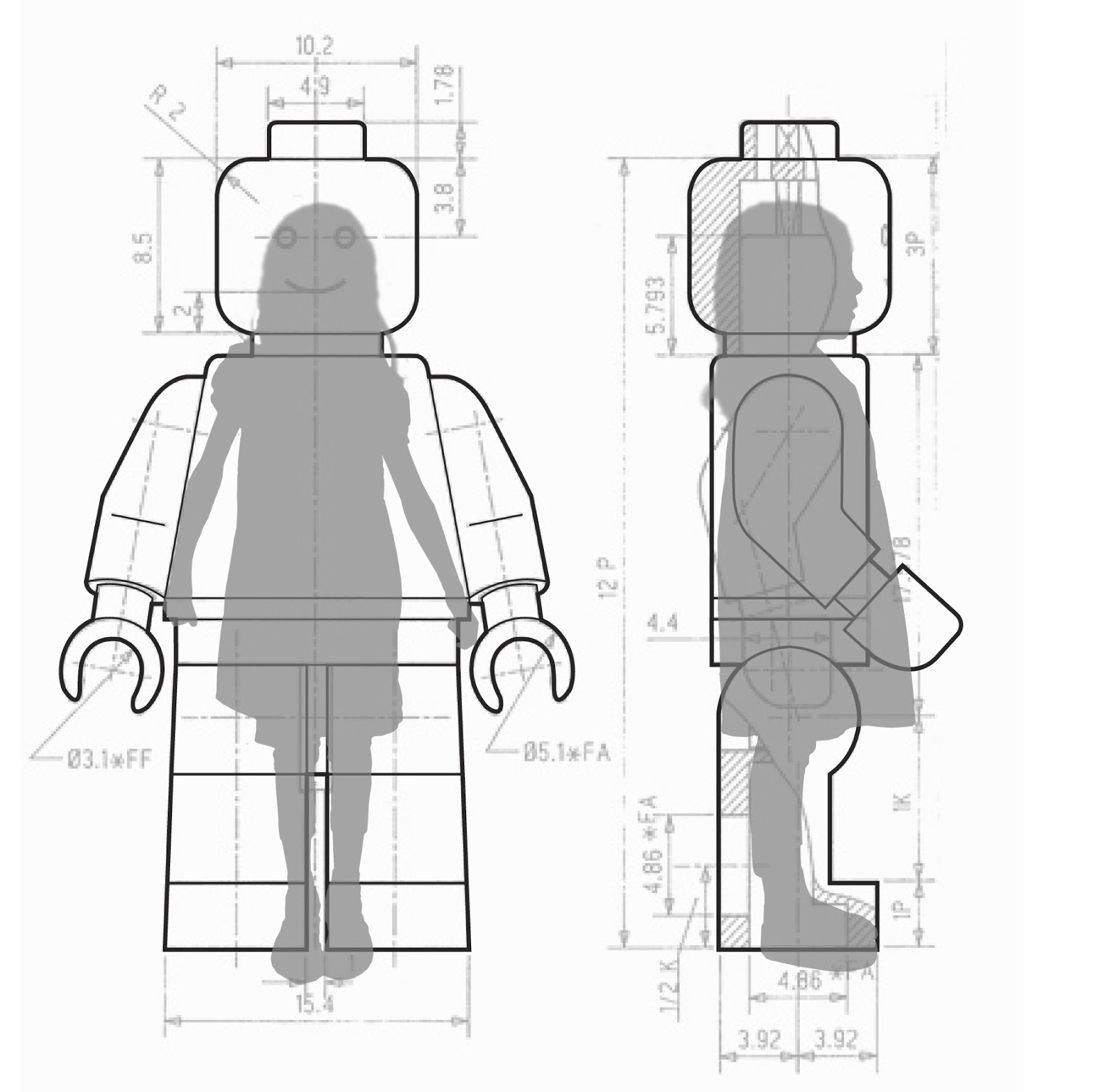 lego figure template more information