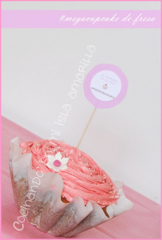 megacupcake-giant cupcake-cupcake gitante