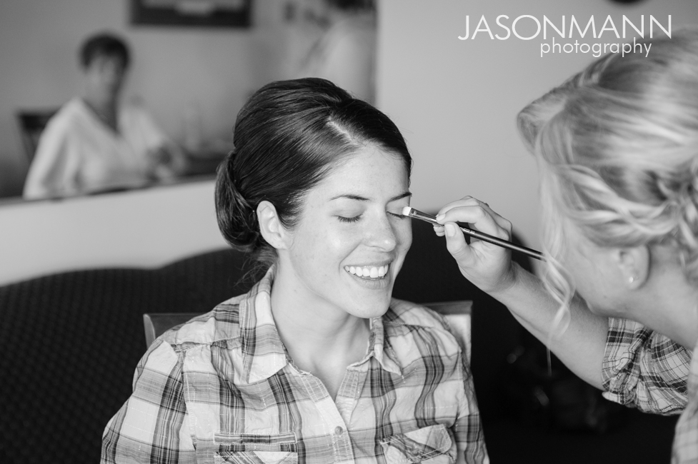 Jason Mann Photography - Door County Wedding Makeup