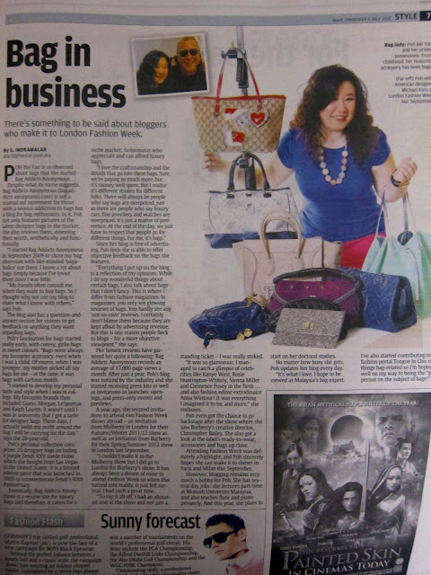 Poh Bei Yan Bag Addicts Anonymous Star Feature