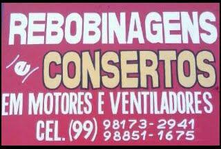 Rebobinagem & Consertos em Motores e Ventiladores