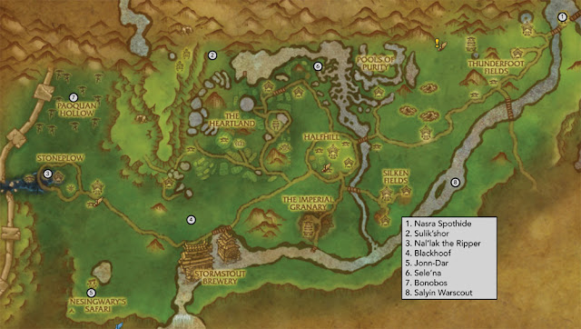 how to get to pandaria from sw