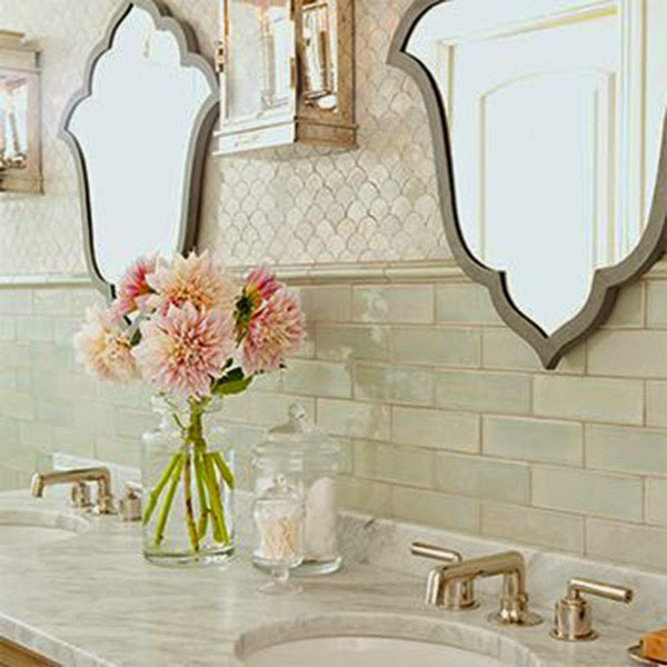 Unique Mirror Shapes For Your Bathroom
