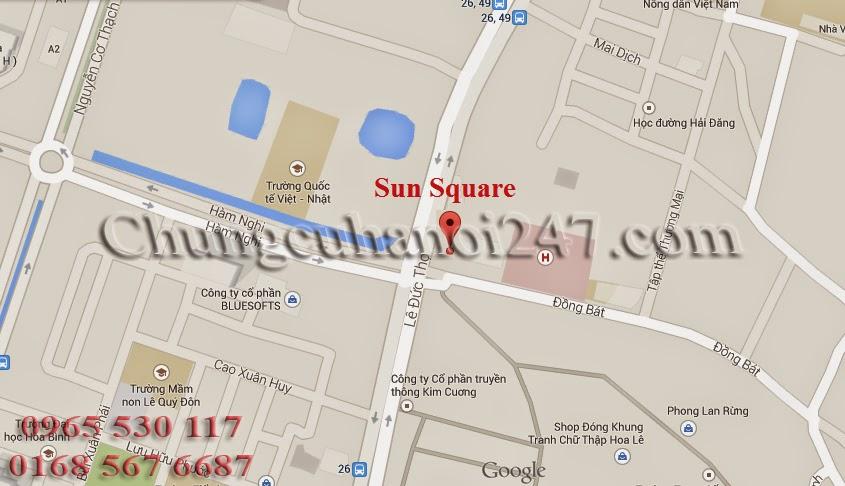 chung cư sunsquare 21 lê đức thọ
