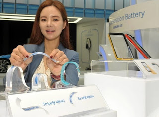 Samsung Hadirkan Baterai Super Tipis 0,3 mm