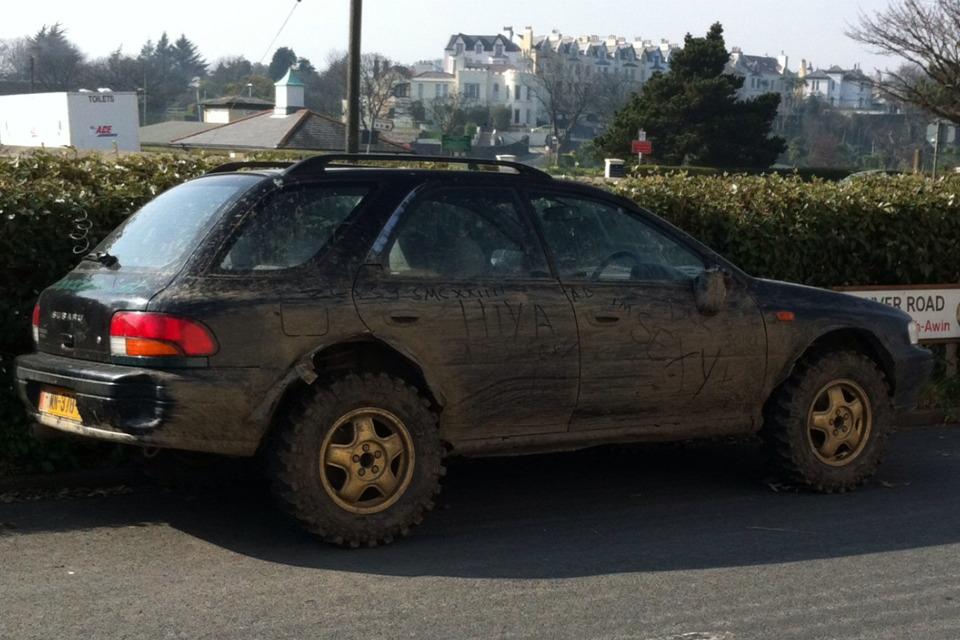 Subaru Impreza GF off road, ciekawostki jdm