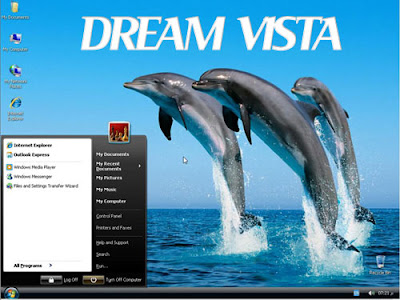 WINDOWS XP DREAM VISTA