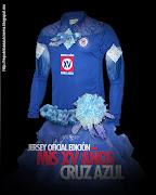 Jersey Oficial Cruz Azul • Edición Mis XV Años (jersey xv cruzazul)