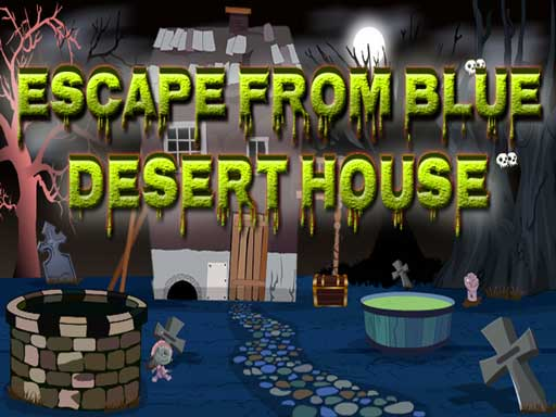 Top10NewGames - Escape From Blue Desert House