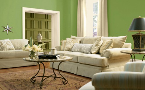 Impressive Green Color Paint Living Room Ideas 500 x 313 · 37 kB · jpeg