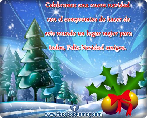 Tarjetas de navidad para facebook Imagenes bonitas para muro de ...