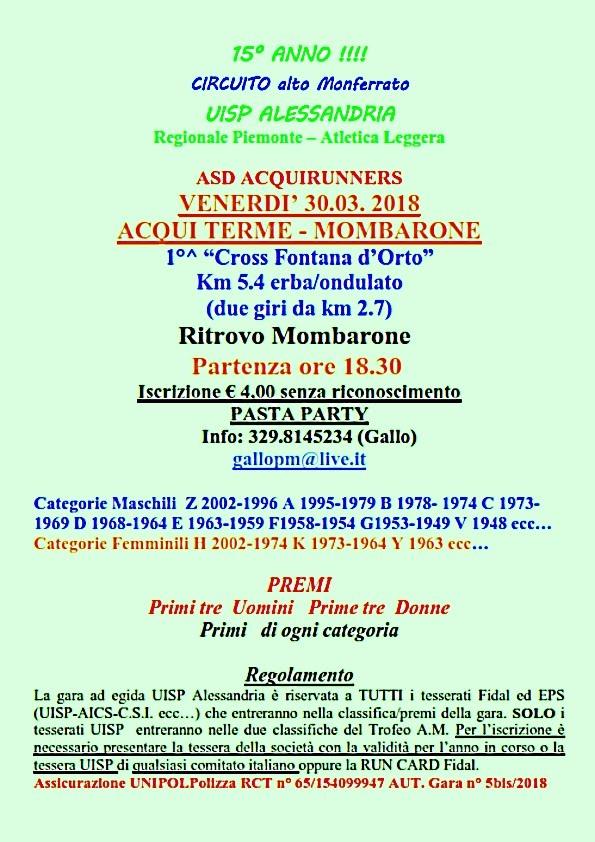 Acqui Terme 30 marzo