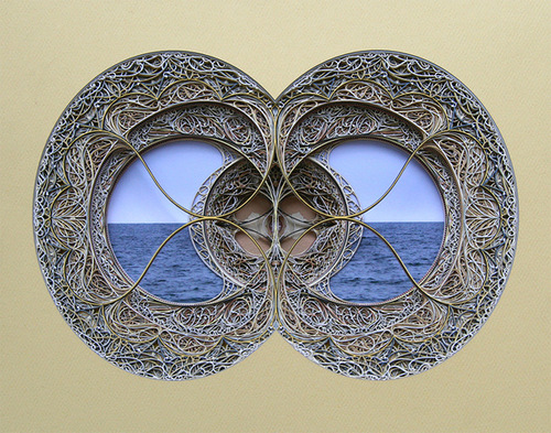 Eric Standley amazing paper cut art