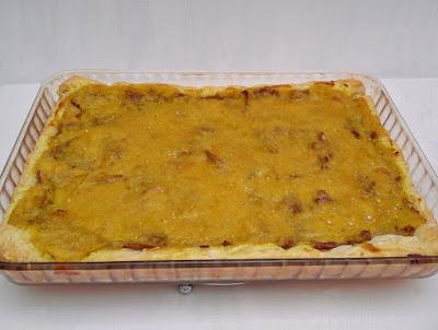 Tartaleta de Hojaldre con Setas y Bechamel de Almendras