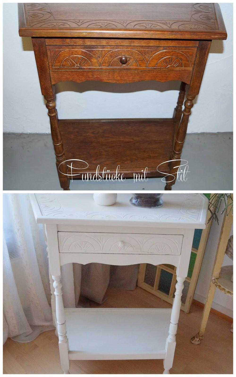 Alte Möbel Mit Kreidefarbe Streichen: Upcycle alter stuhl ...
