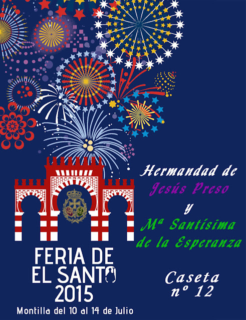 Cartel Caseta Feria 2015