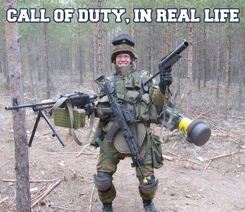Call Of Duty In Real Life.
