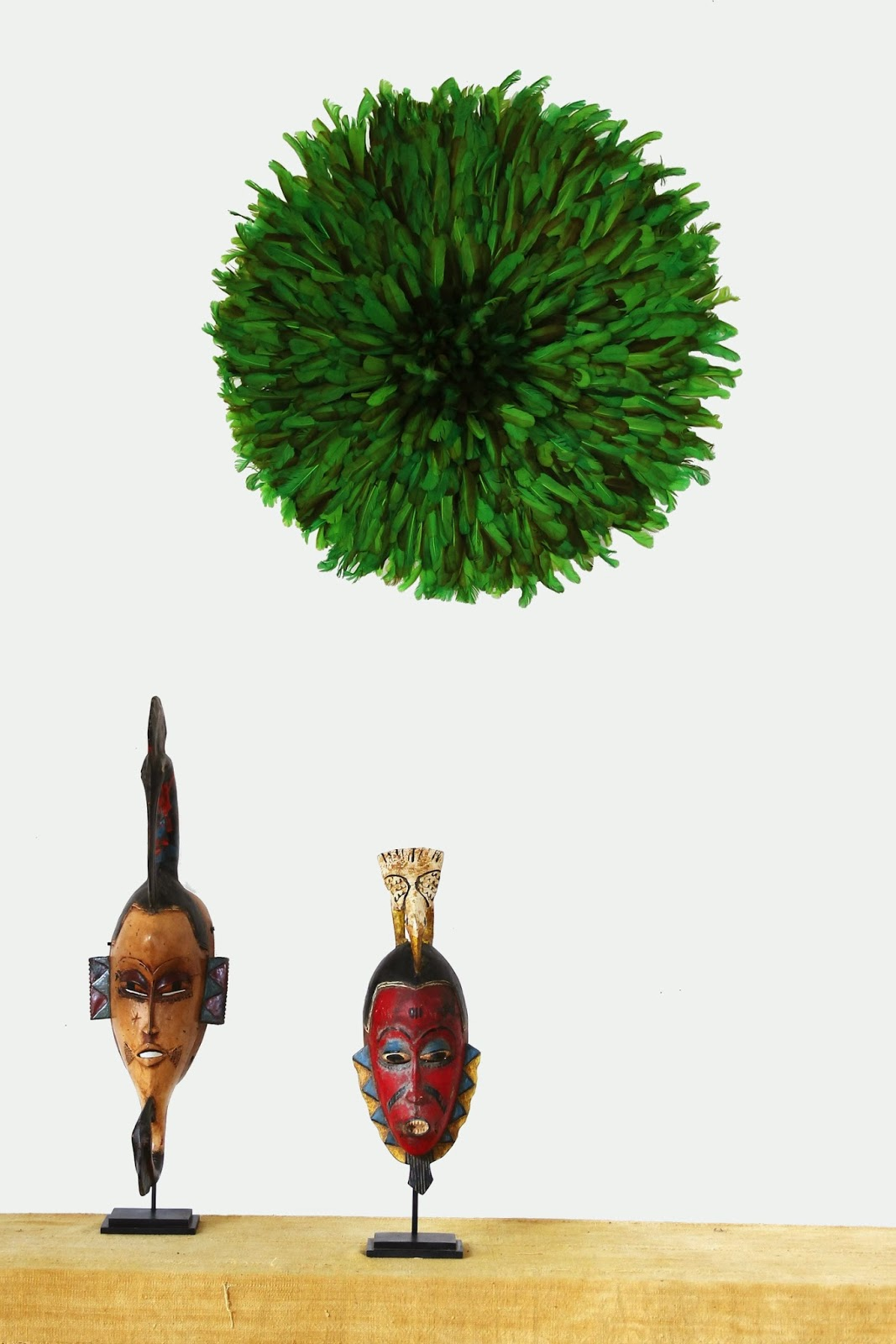 Emerald Green Juju Hat Kronbali
