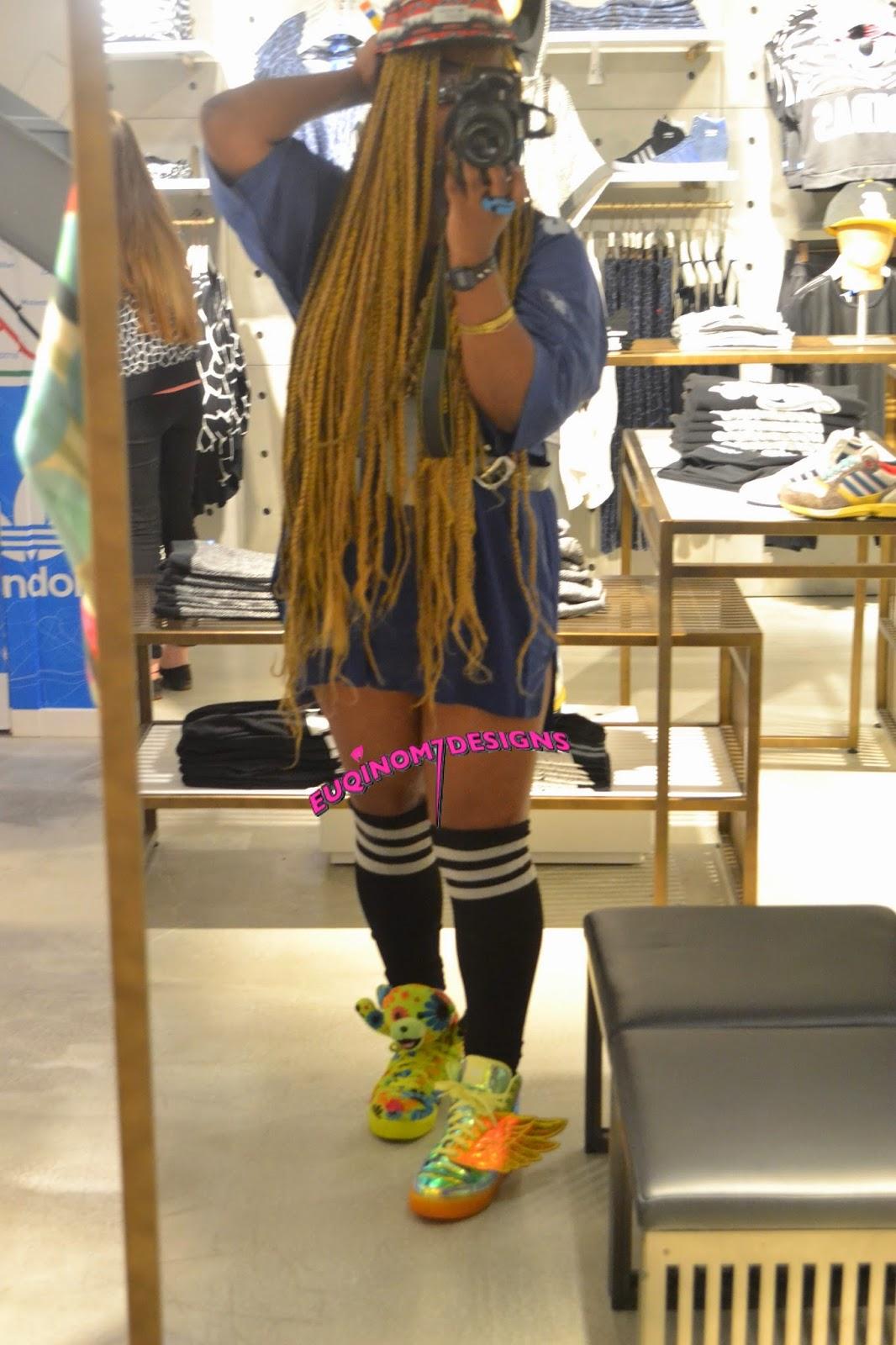 EUQINOM SEVEN: ADI – ME (New Adidas FlagShip Store London)