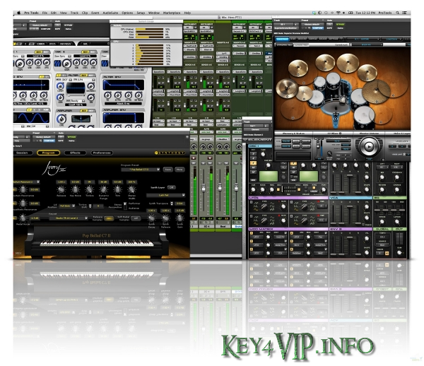Avid Pro Tools HD 10.3.9 Mac OSX Full,Phần mềm chỉnh sửa và biên tập âm thanh số 1
