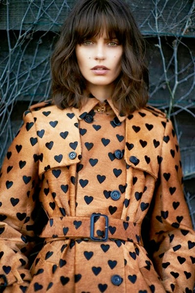 Burberry Prorsum RTW FW 2013 Trench Kisses Trench Coat