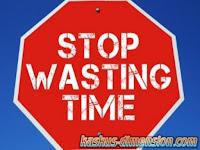 Penyebab Membuang Waktu