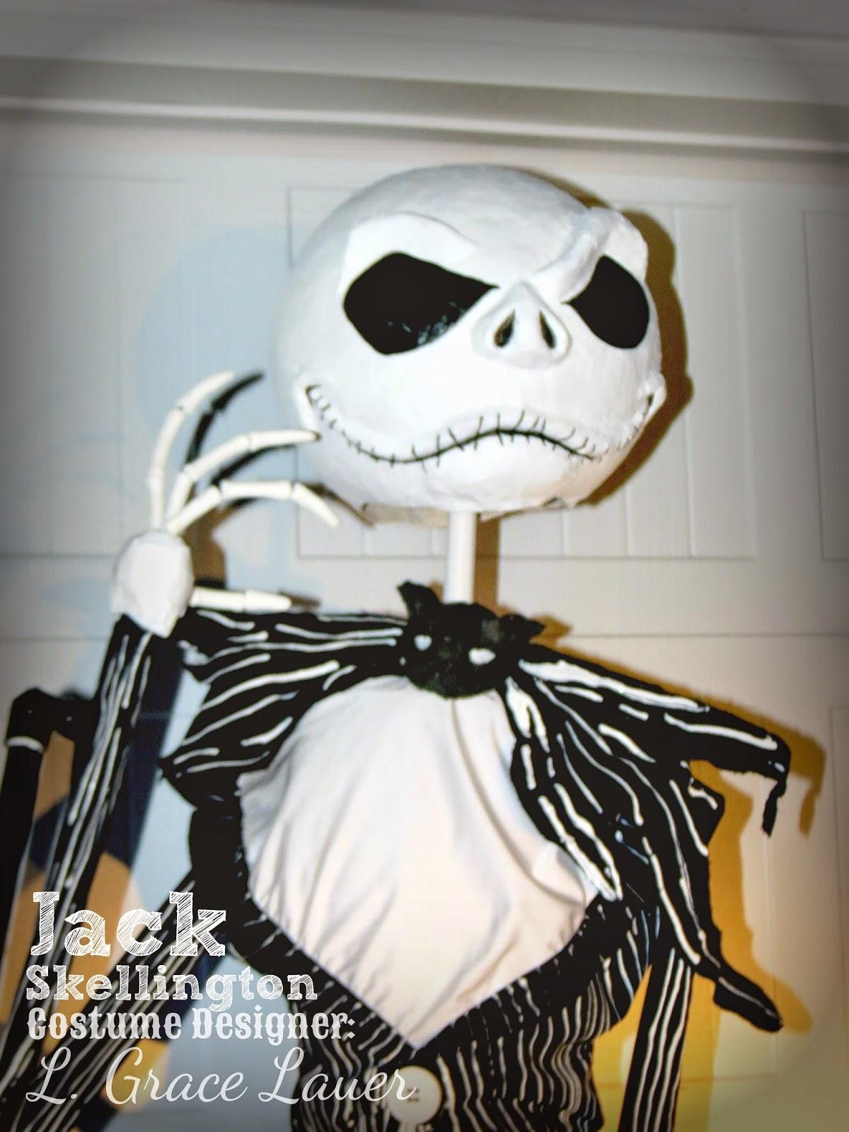 Uniquely Grace: Jack Skellington Handmade Costume - Nightmare Before ...