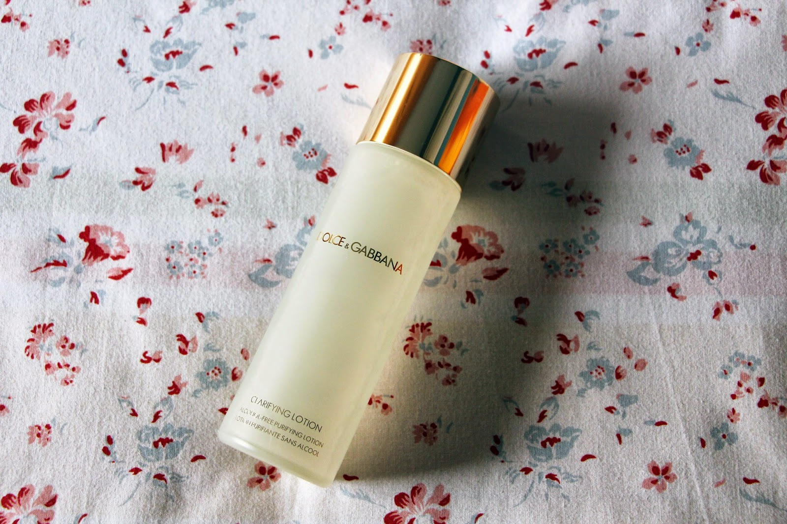 Dolce & Gabbana Clarifying Lotion Review